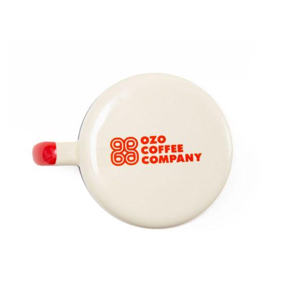 ozo enamel camp mug