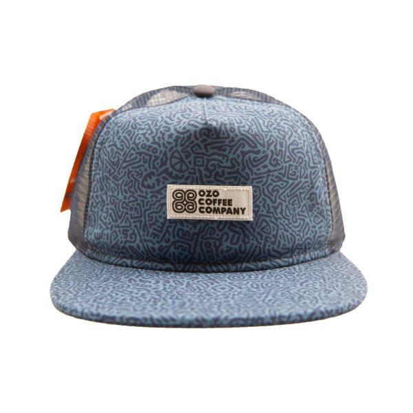 ozo logo hat blue