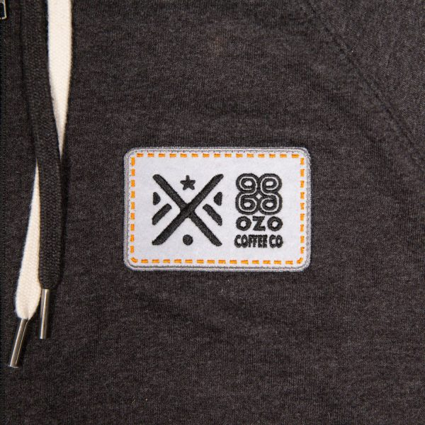 ozo patch hoodie